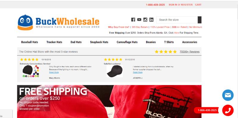14. Buck Wholesale