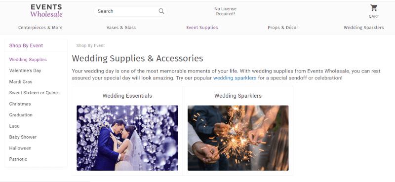 14. Events Wholesale