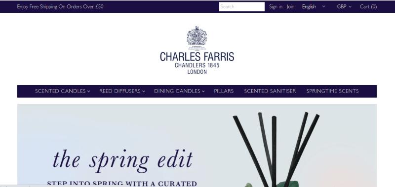 14.Charles Farris, London