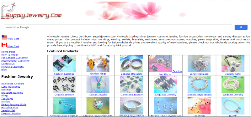 15. Supply Jewelry