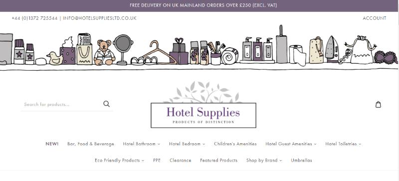 16.Hotel Supplies