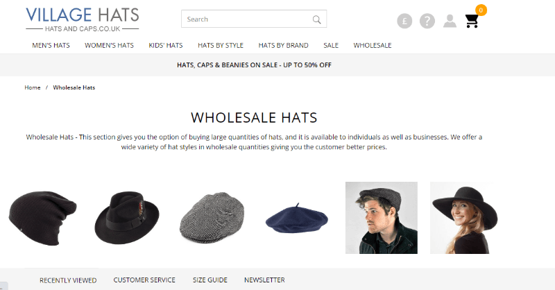 16.Village Hats