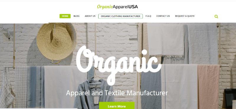 17.Organic Apparel USA