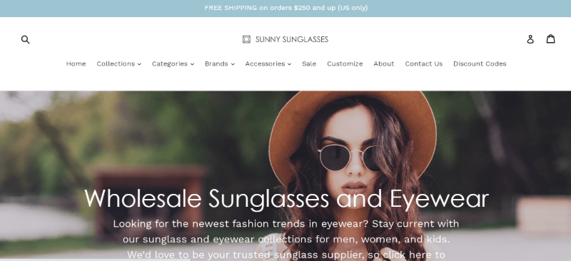 17.Sunny Sunglasses