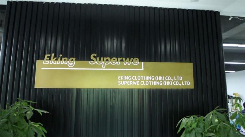 2. Shenzhen Eking Clothing Co., Ltd.