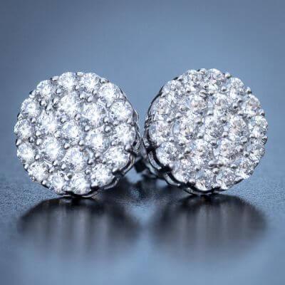 2.Cluster Earrings