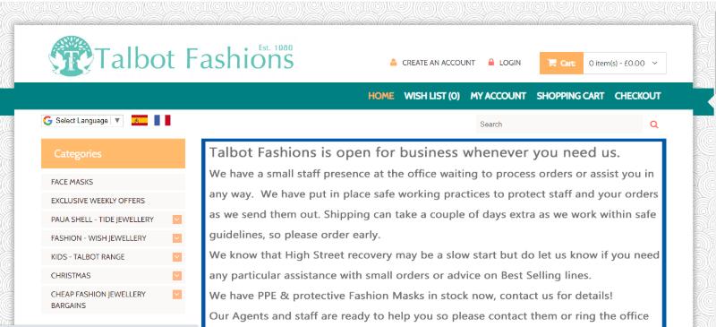 20.Talbot Fashion