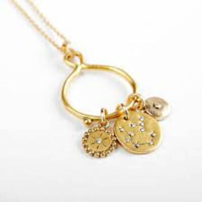 3. Charm Necklace