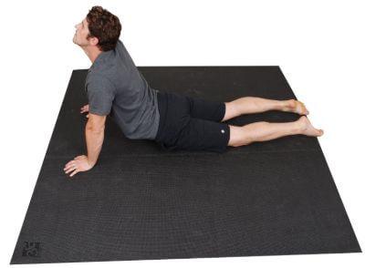 3. Square Yoga Mat