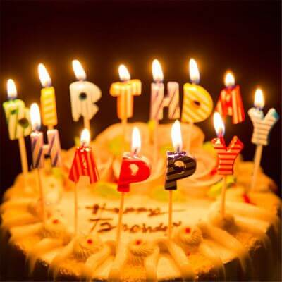 3.Birthday Candles