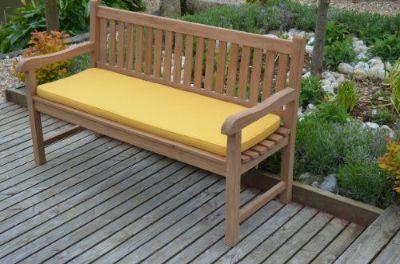 4. Bench cushions