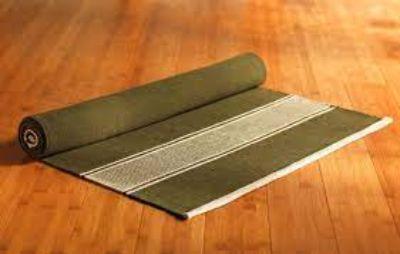 4. Natural Yoga Mat