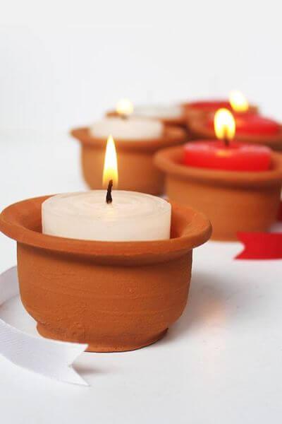 4.Candle Pot