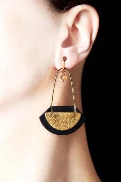 4.Clip-On Back Earrings