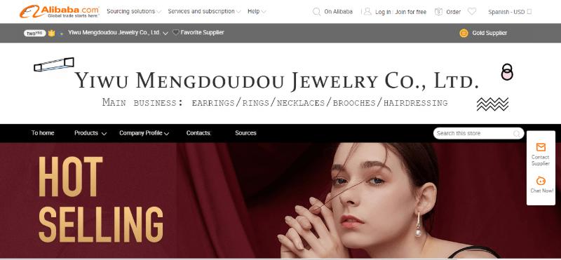 4.Yiwu Mengdoudou Jewelry Co., Ltd.