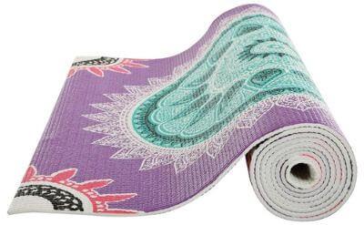 5. Printed Yoga mat