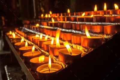 5.Votive Candles