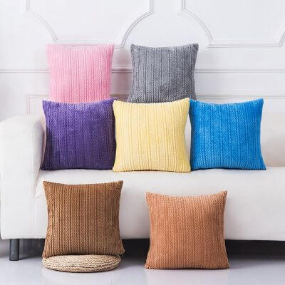 7. Cushion covers
