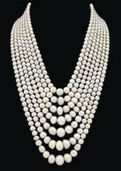 7. Pearl Necklace