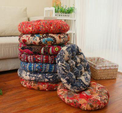 8. Chair cushions