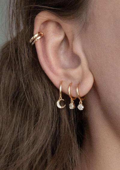 8.Huggie Earrings