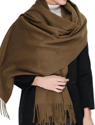 8.Wool Scarves