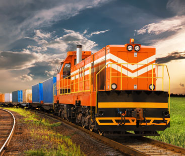Hotel Supplies Rail Freight From Shipping