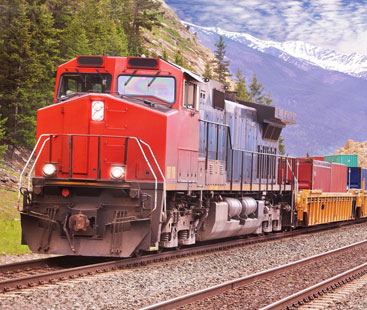 Uniforms Supplies Rail Freight From Shipping