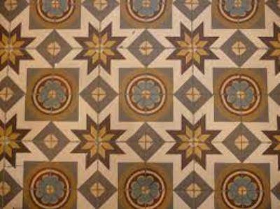 4. Cement Tiles
